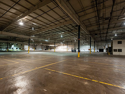 warehouse for commercial property leasing